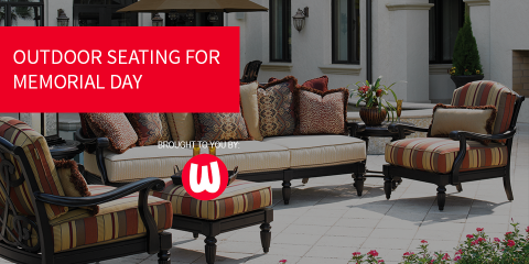 Get Ready For Memorial Day With Patio Furniture From Watsonu0027s, Harrison,  Ohio