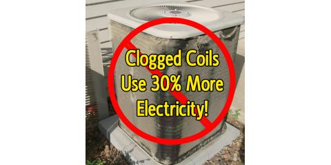 Why is it Important to Keep Your AC Condenser Coils Clean?  Click here to read more...., Forked River, New Jersey
