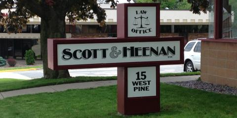 Scott & Heenan LLC , Criminal Attorneys, Services, Platteville, Wisconsin