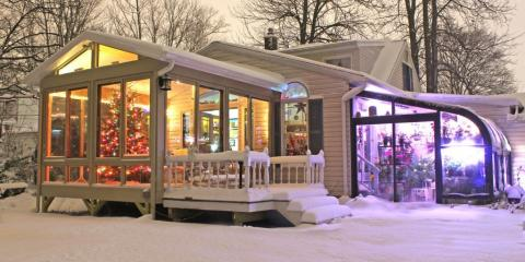 How to Keep Your Sunroom Warm in the Coming Winter, East Rochester, New York