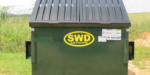 What Size Dumpster Do I Need?, Ozark, Alabama
