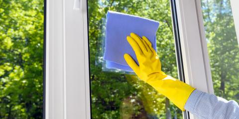 3 Steps to Clean Vinyl Windows, Ozark, Alabama