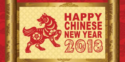 Happy Chinese New Year, Gong Hei Fat Choy, Puyallup, Washington
