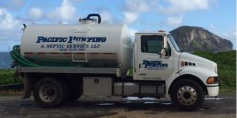 Pacific Pumping & Septic Service, LLC., Septic Systems, Services, Kaneohe, Hawaii