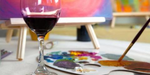 5 Benefits of Paint & Sip Classes , Manhattan, New York