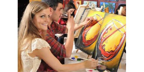 3 Reasons to Make Your Next Get-Together a Wine Painting Party, Maryland Heights, Missouri