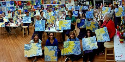 Skip the Mess: Plan Your Wine & Paint Gathering at Paintbrushes & Party, La Grange, New York