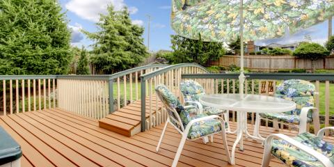 Why Fall Is the Perfect Time for Deck Staining, Minisink, New York