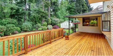 How to Know When to Have Your Deck Stained, Wentzville, Missouri