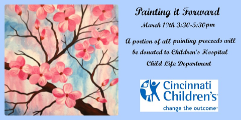Spend an Afternoon Painting With Wine & Raising Money for Children's Hospital, Middletown, Ohio