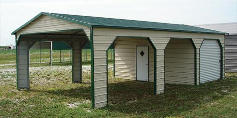 3 great ways to use a steel carport from logan county portable buildings greenbrier
