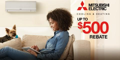 Get Up to $500 Back on Mitsubishi Electric® Systems, Park Ridge, New Jersey