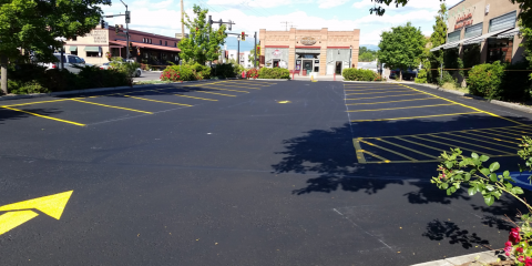 How Your Parking Lot Can Benefit From New Striping, Kalispell, Montana