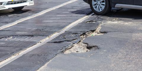 How Do Potholes Affect Parking Lots?, Columbus, Ohio