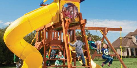 3 Reasons A Professional Should Install Your Outside Swing Set