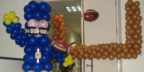 Liven Up Your Super Bowl Party With The Best Balloon Decorations