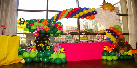 PARTY FIESTA BALLOON DECOR Says Its Time to Party Party Party