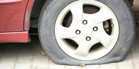 5 Common Causes of Flat Tires, Paterson, New Jersey