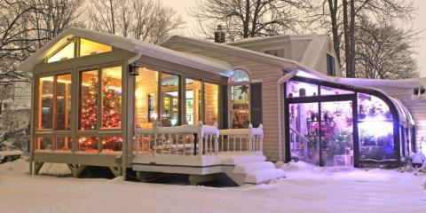 How Can Glass Roofs Hold Up Against Snow?, East Rochester, New York