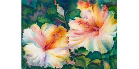 Wonders of Watercolor with Patrice Federspiel, Honolulu, Hawaii