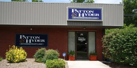 Patton & Hyder PLLC, Personal Injury Law, Services, Crossville, Tennessee