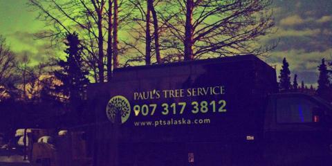 Paul's Tree Service, Tree Service, Services, Anchorage, Alaska