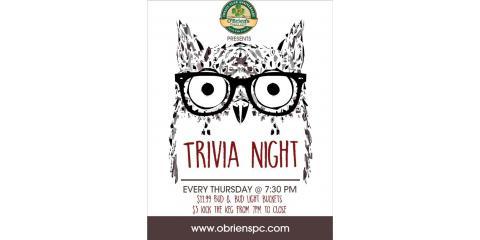 Trivia Night!, Plant City, Florida