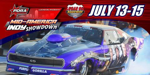 Flying A is at the Mid-America Indy Showdown at Lucas Oil Speedway - July 13th-15th! , Cuba, Missouri