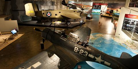 Pacific Aviation Museum Pearl Harbor Displays Rare B5N Japanese Torpedo Plane, Honolulu, Hawaii