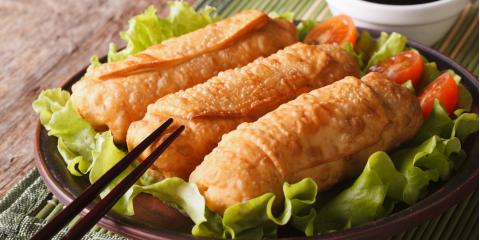 What Are the Differences Between Egg Rolls & Spring Rolls?, Penfield, New York