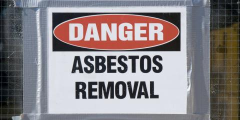 Personal Injury Attorney Lists 5 Signs of Asbestos Exposure, Cincinnati, Ohio