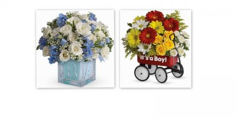 Share The Excitement of a New Baby by Sending Fresh Flowers From Petals & Things Florist, West Chester, Ohio