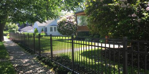 The Beauty of a Pewter Aluminum Fence, Islip, New York