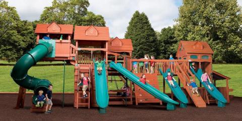 top 3 benefits of building a backyard play set for your kids broken arrow