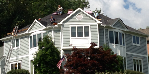 A Gutter Installation From JB Roofing Diversified Protects Your Home From The Elements, Maineville, Ohio