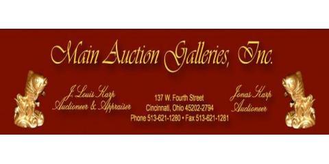 Main Auction Galleries, Auctioneers & Auctions, Shopping, Cincinnati, Ohio