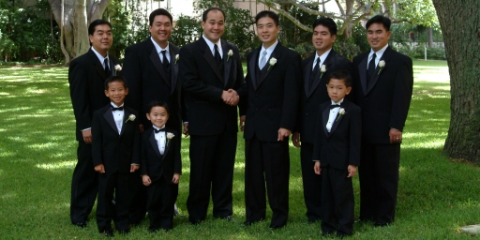 Black Tie Affair, Tuxedos, Shopping, Honolulu, Hawaii