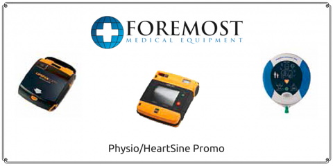 Foremost Medical Equipment Presents: Physio/HeartSine Promo, Henrietta, New York