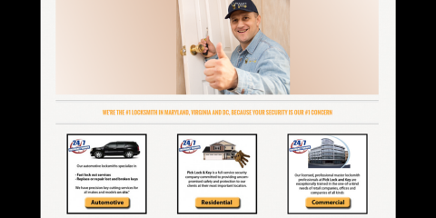 Pick Lock & Key Offers Legendary Residential Locksmith Services, 4, Maryland
