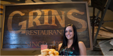 Take a Study Break With Happy Hour at Grins Restaurant in San Marcos, San Marcos, Texas