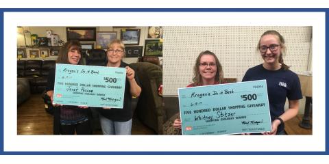 """Krogen's Do it Best """"$500 Shopping Giveaway"""" Has Its Winners!, Boscobel, Wisconsin"""