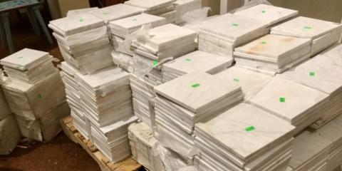 White Carrera Marble, lots of it!, Lincoln, Nebraska