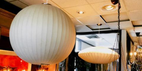 Vintage Large Bulb Lights, Moving Out Sale, Lincoln, Nebraska