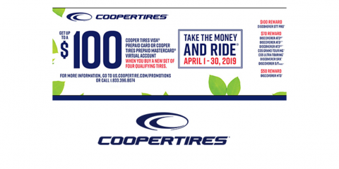 Cooper - Cooper Tires Spring Reward Offer, Kannapolis, North Carolina