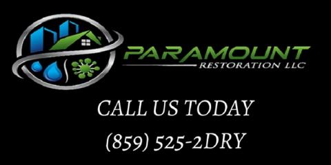 Paramount Restoration, Restoration Services, Services, Elsmere, Kentucky