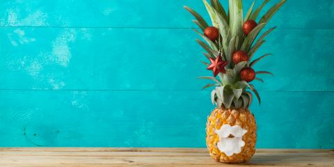 How to Use Pineapple as Part of Your Christmas Decorations, Honolulu, Hawaii