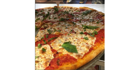 "Get a Large 18"" Pie & a Dozen Wings for $22.95 + tax!, Bronx, New York"