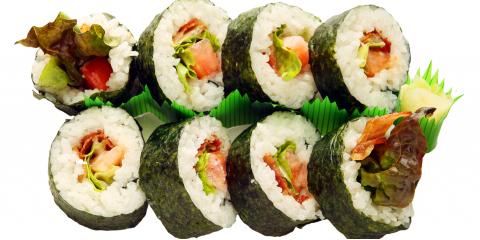 An Introduction to 3 Sushi Types, Ewa, Hawaii