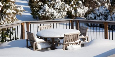 3 Deck Care Tips for Winter, Scotch Plains, New Jersey