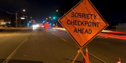 What You Should Know About Sobriety Checkpoints in Connecticut, Plainville, Connecticut